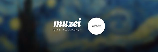 Muzei: niet zomaar een live wallpaper