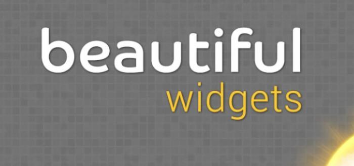 Beautiful Widgets krijgt update met nieuwe widgets