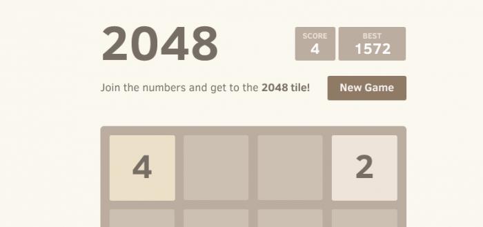 2048: Een verslavende rekengame