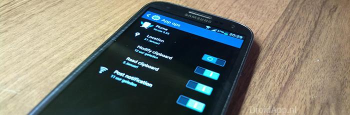 App Ops: je privacy in eigen handen