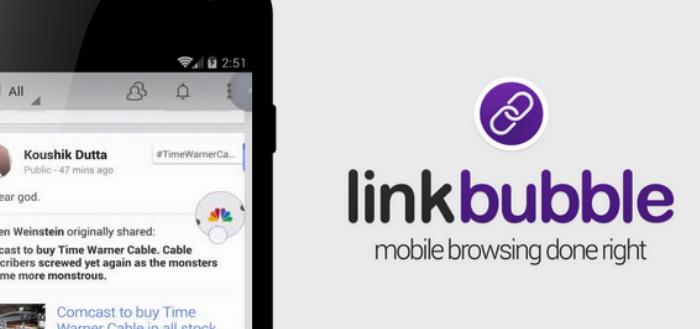 Link Bubble verbeterd browsen