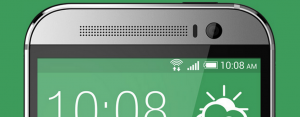 HTC One M8 header