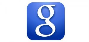 Google Search header