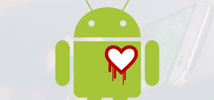 5% Android-apparaten getroffen door Heartbleed: vooral HTC en Custom-ROM kwetsbaar