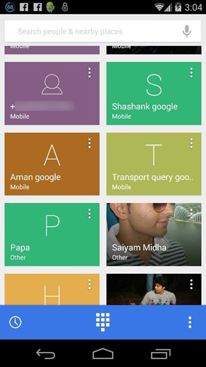 dialer android 4.4.3 google
