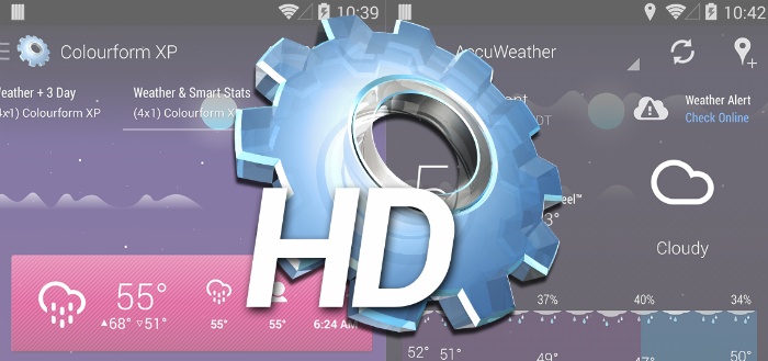 HD Widgets 4 verschenen in Play Store met verfrissende interface