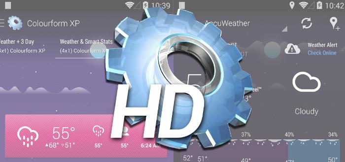HD Widgets 4 beschikbaar als bèta, 1 mei in de Play Store