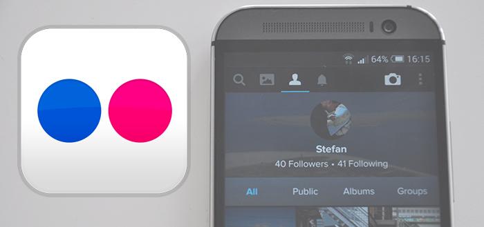 Flickr brengt versie 3.1 uit voor Android-app