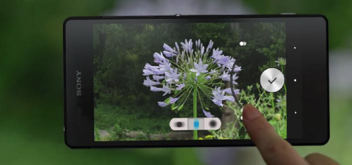 Sony zet achtergrondvervaging-app voor camera in Play Store