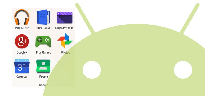 'Google geeft Android-icoontjes flinke make-over'