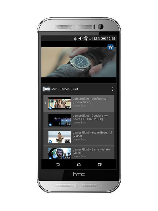 YouTube update Android Youtube mix