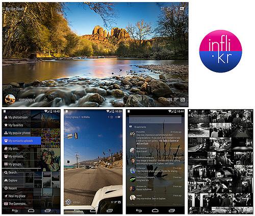 chromecast inflikr flickr