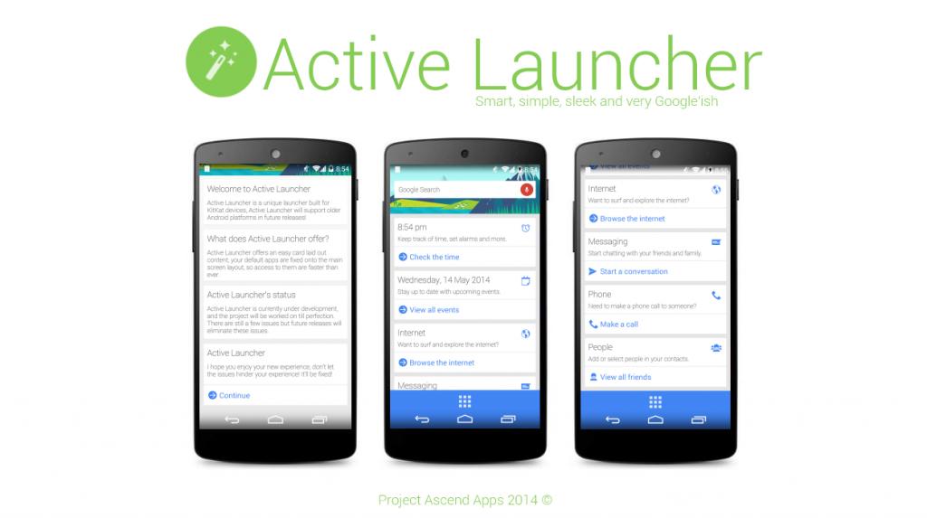 Active Launcher