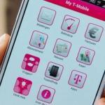 My T-Mobile ontvangt update naar versie 3.1