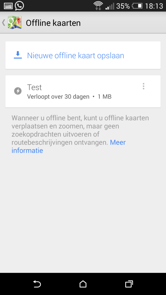 Google Maps 8.0 update