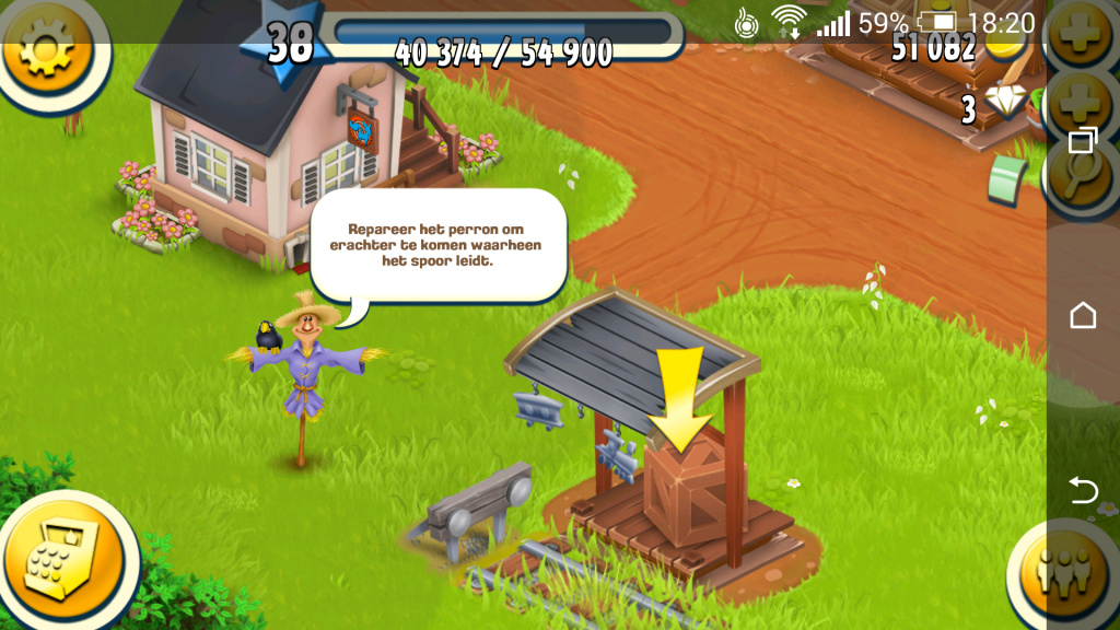 Hay Day The Town