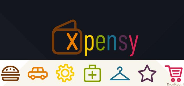Xpensy: je uitgaven kleurrijk onder controle