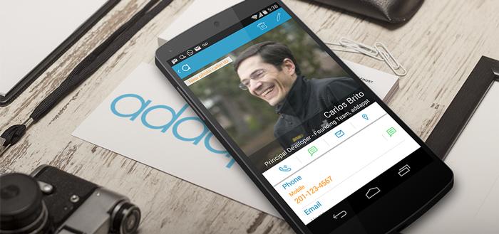 Contacten-app Addappt laat vrienden hun gegevens up-to-date houden