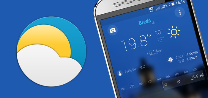 Bright Weather gelanceerd in Play Store na korte beta-periode