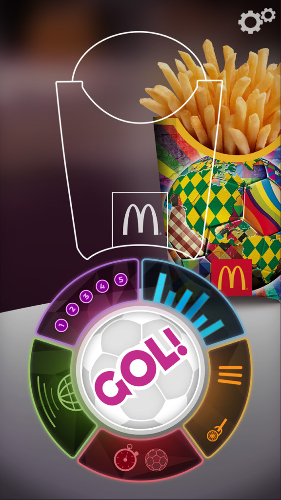mcdonalds spel app