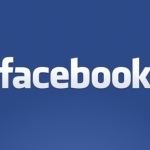 Facebook test platte, kleurrijke interface in Android-app