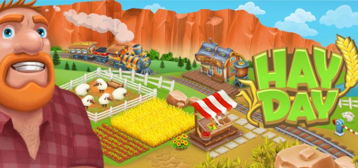 Hay Day Halloween thema uitgerold
