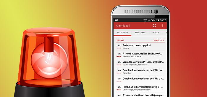 Alarmfase 1: na 4 jaar ook de P2000-meldingen voor Android