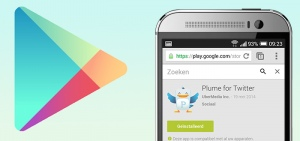 Header Google Play Store