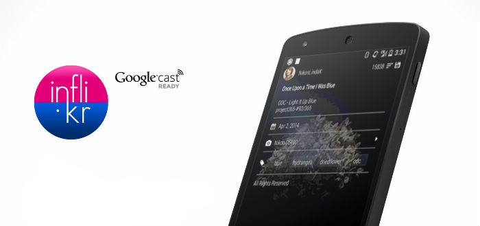 Inflikr brengt fotodienst Flickr naar Google Chromecast