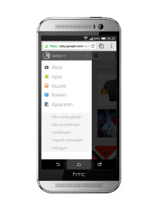 Google Play Store mobiel