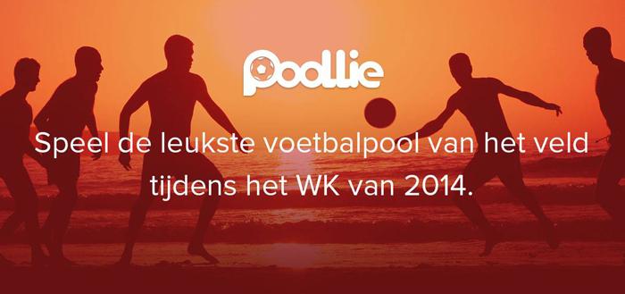 Poollie lanceert sociale WK voetbalpool-app