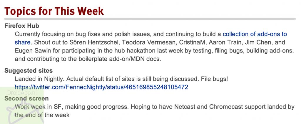 Firefox Chromecast DroidApp.nl