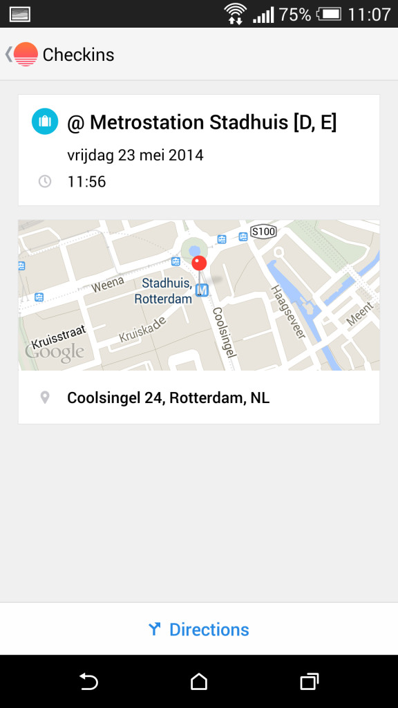 Sunrise Calendar Android foursquare