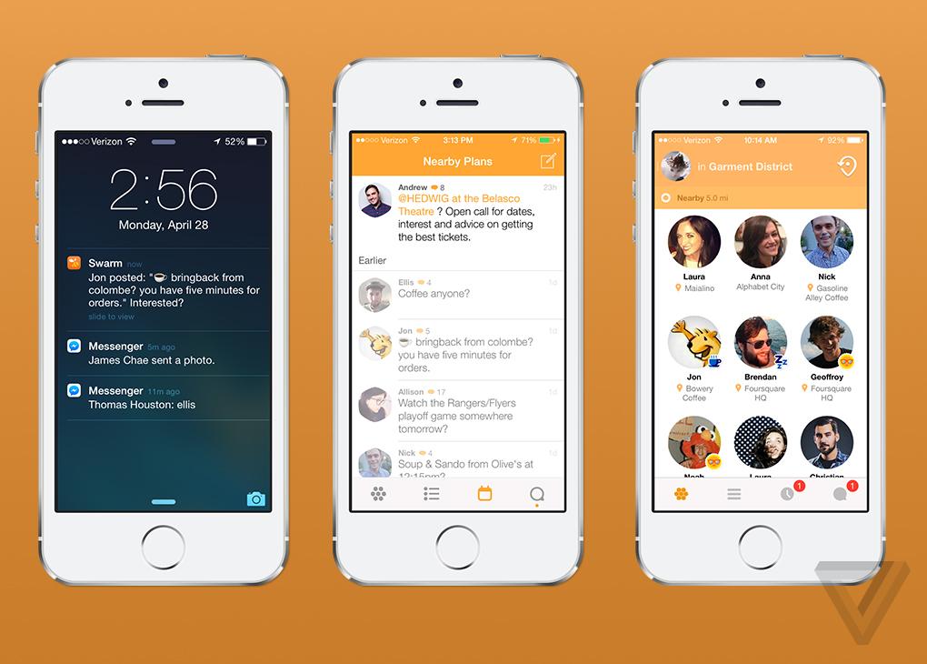 Swarm Foursquare