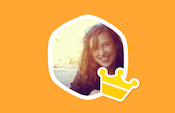 Swarm foursquare sticker