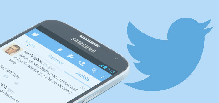 Twitter laat statistieken zien in Android-app