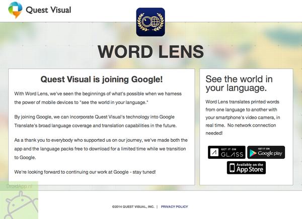 Google Word Lens