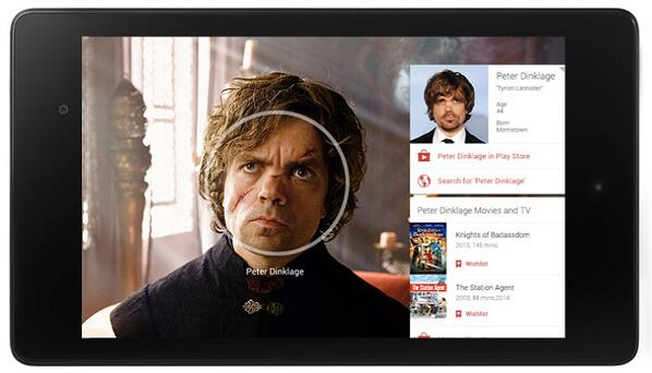 Google Play Movies Info-cards