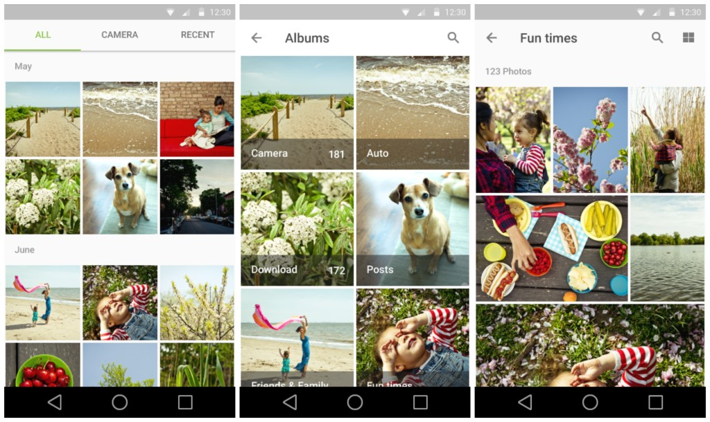 Android L gallery
