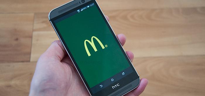 'McDonald's gaat bestellingen opnemen via mobiele app en website'