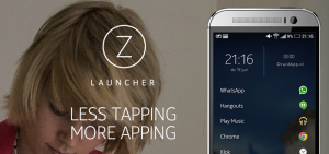 Z Launcher ZLauncher header