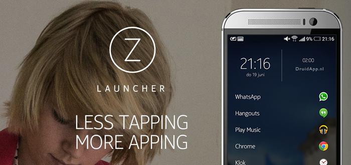Nokia brengt eigen launcher uit voor Android onder de naam Z Launcher