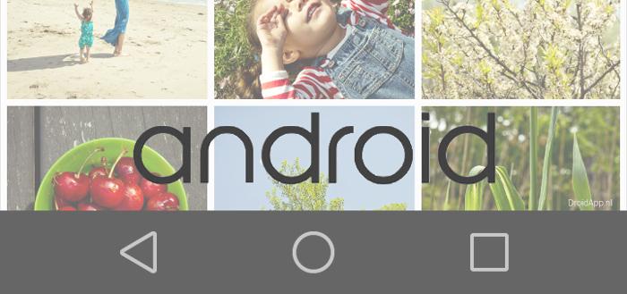 Android L: voorproefje van de nieuwe vormgeving (foto's)