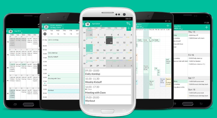 e-CAL: een Holo-kalender voor Android