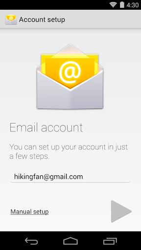 Stock e-mail