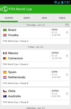 ESPN FC Football World Cup