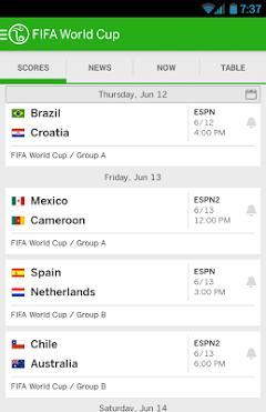 ESPN FC Football World Cup