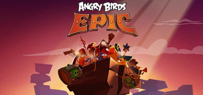 Angry Birds Epic wordt 12 juni gelanceerd