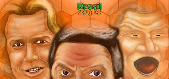 WK 2014 Soundboard: hilarische voetbaluitspraken binnen handbereik