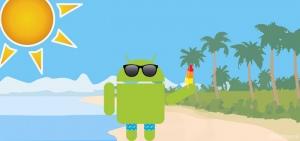 Header Android vakantie